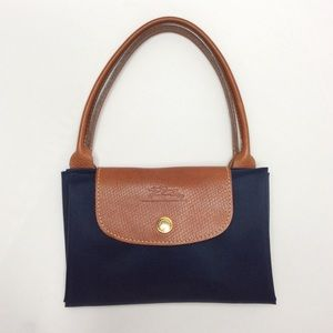 "Les Pliages LONGCHAMP Type ""S"" Tote Navy Tall"